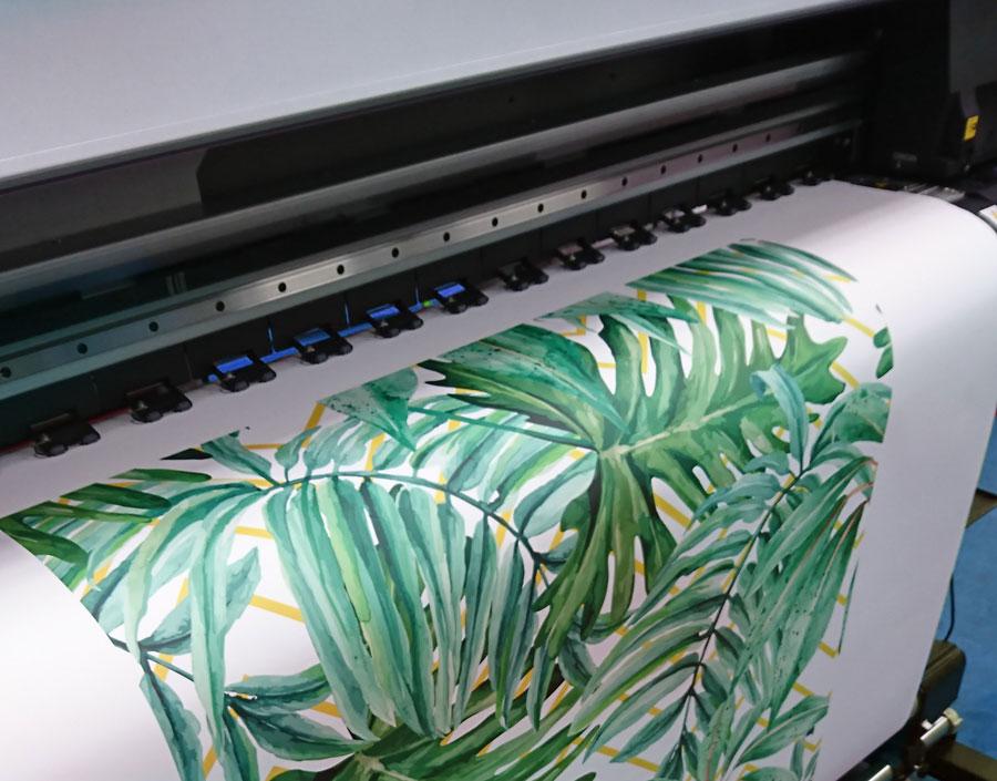 Stickerbehang printen