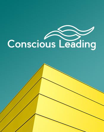 Conscious leading logo ontwerp