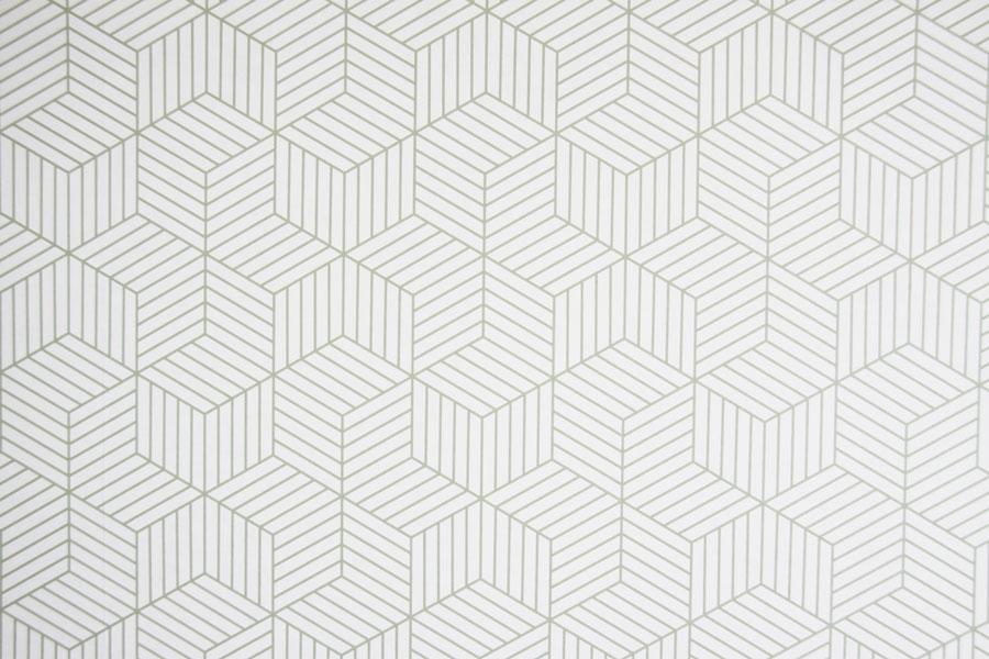 custom made behang geometrisch