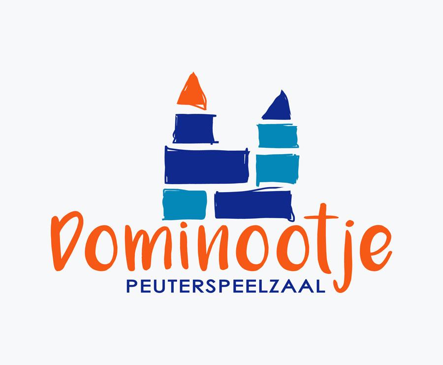 logo ontwerp Dominootje peuterspeelzaal